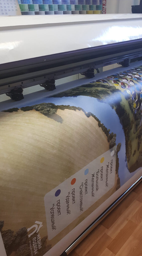 Широкоформатная печать для лучших дизайнерских решений