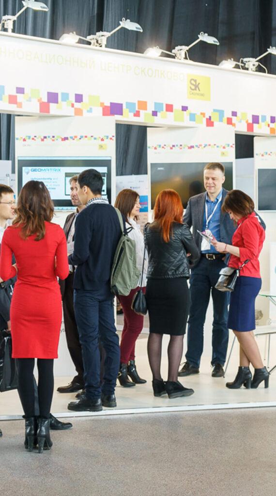 Стенд «Сколково» на 5-ом Международном ПЛАС-Форуме «Online & Offline Retail 2018»