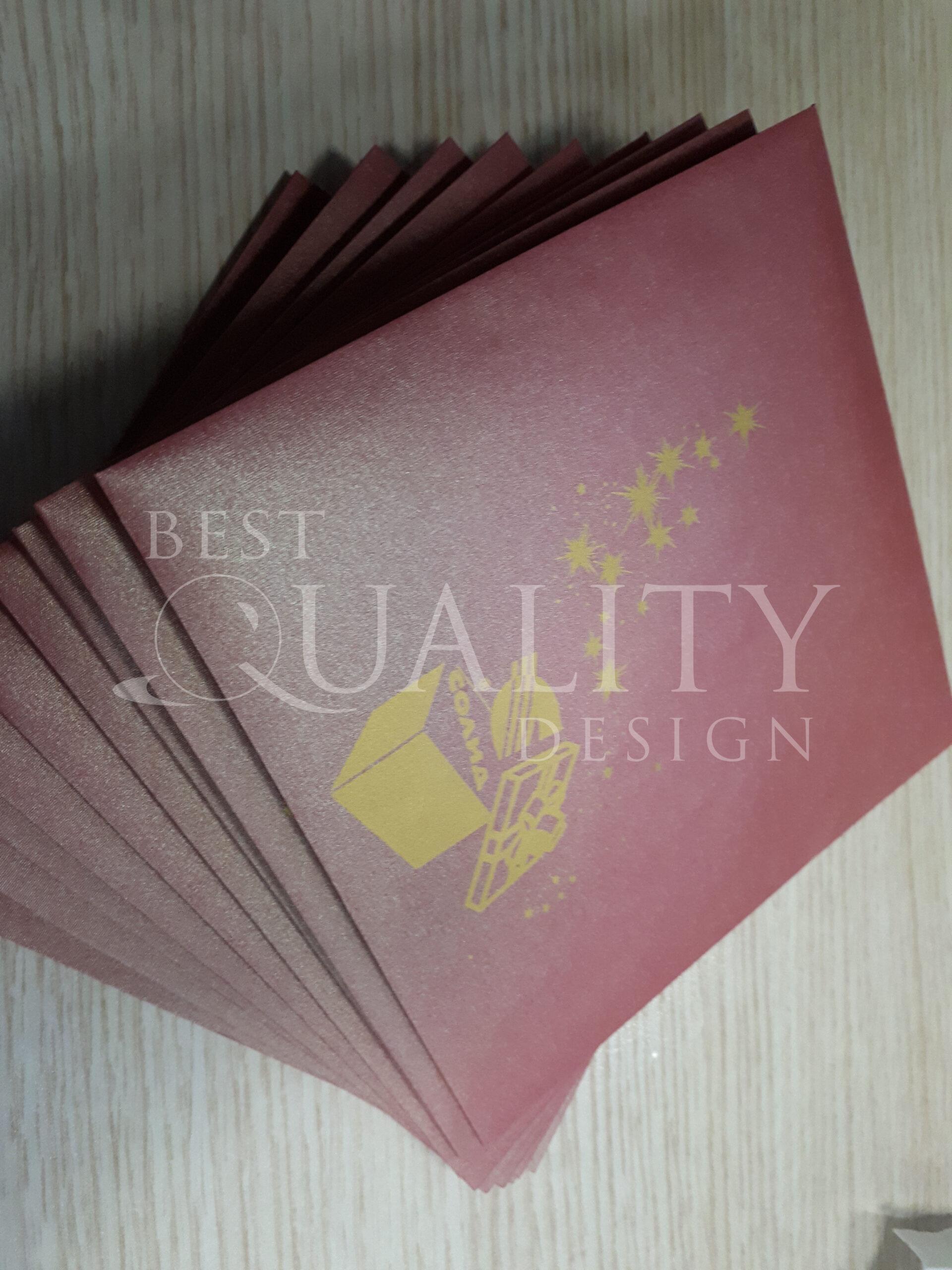 Изготовление новогодних открыток для компании Солид