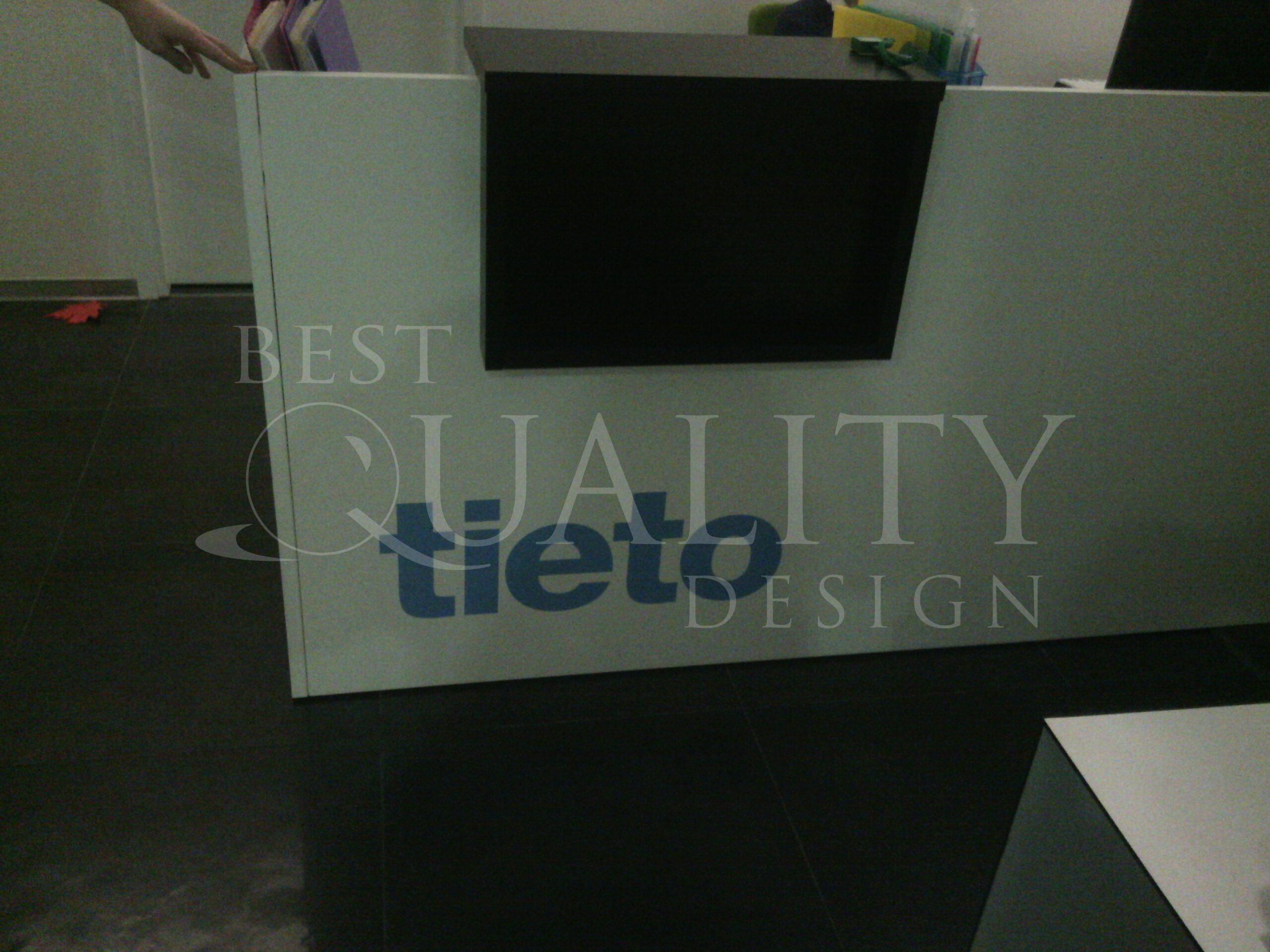 Изготовление мобильных конструкций для компании Tieto