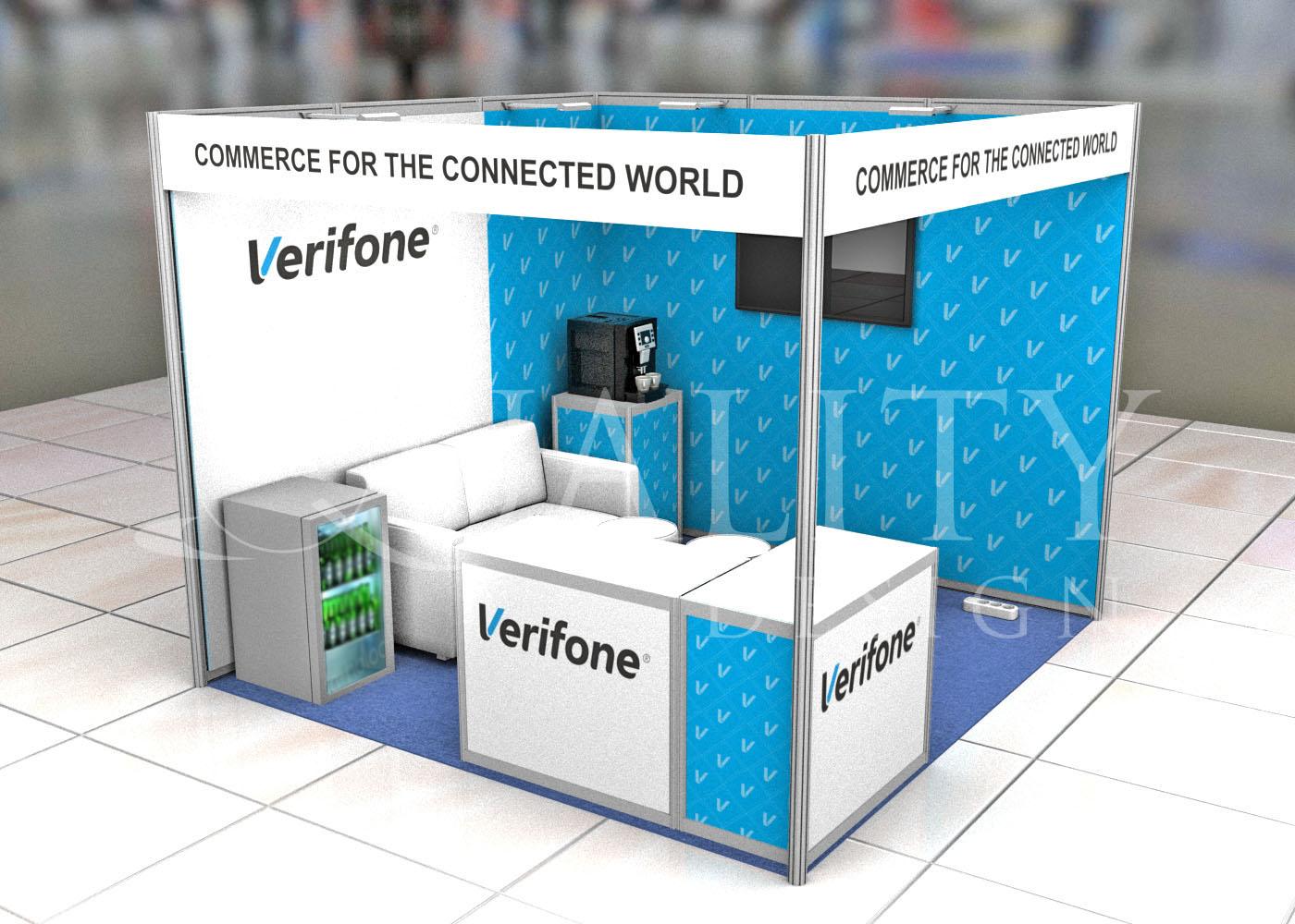 Изготовление стендов для компании Verifone