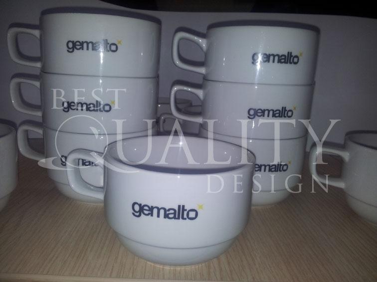 Изготовление сувениров для компании Gemalto