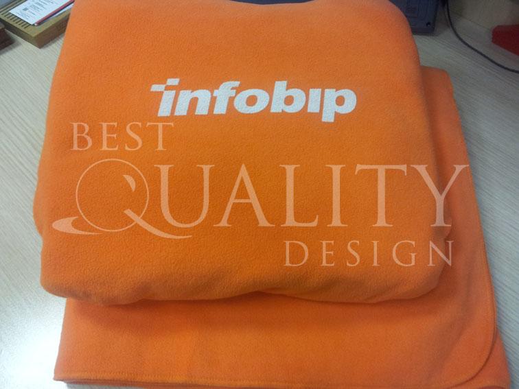 Изготовление сувениров для компании InfoBip