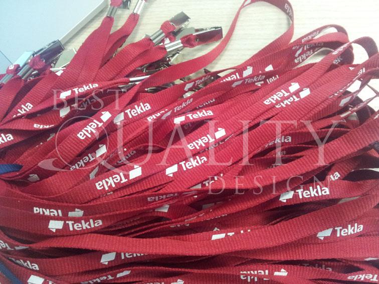 Изготовление сувениров для компании Tekla
