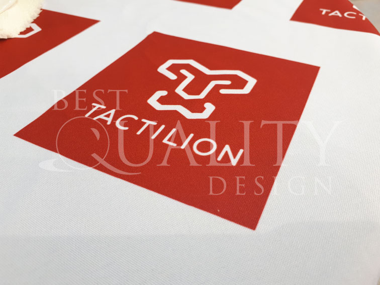 Изготовление сувениров для компании Tactilion
