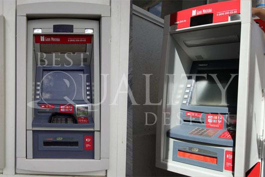Брендирование банкоматов Банка Москвы