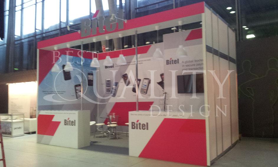Изготовление стендов для компании Bitel
