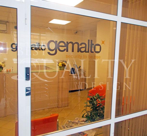 Широкоформатная печать для компании Gemalto