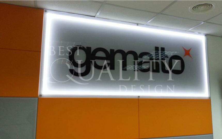 Изготовление POS-материалов для компании Gemalto